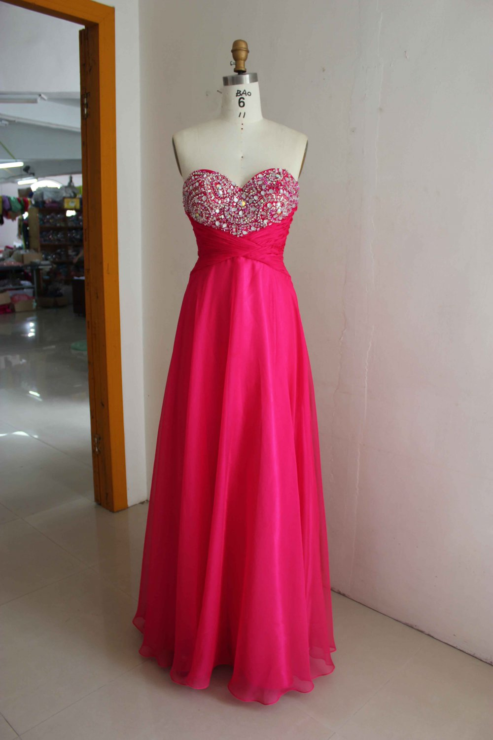 DP #hk1349 - x - Strapless Prom Dresses, Evening Gowns