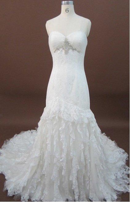 Designer Lace Wedding Dresses - x Fashion Ltd