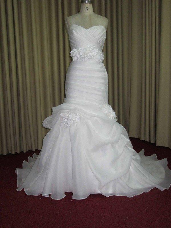 JW1761 - Gathered Wedding Gowns - Pick Up Wedding Dresses