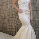 #Zia - Strapless Embroidered Wedding Dress
