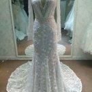 Darius Cordell Long Sleeve Wedding Gown Inspired by Inbal Dror