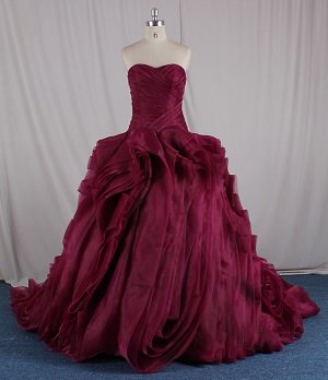 Strapless Red Ball Gowns - Darius Cordell