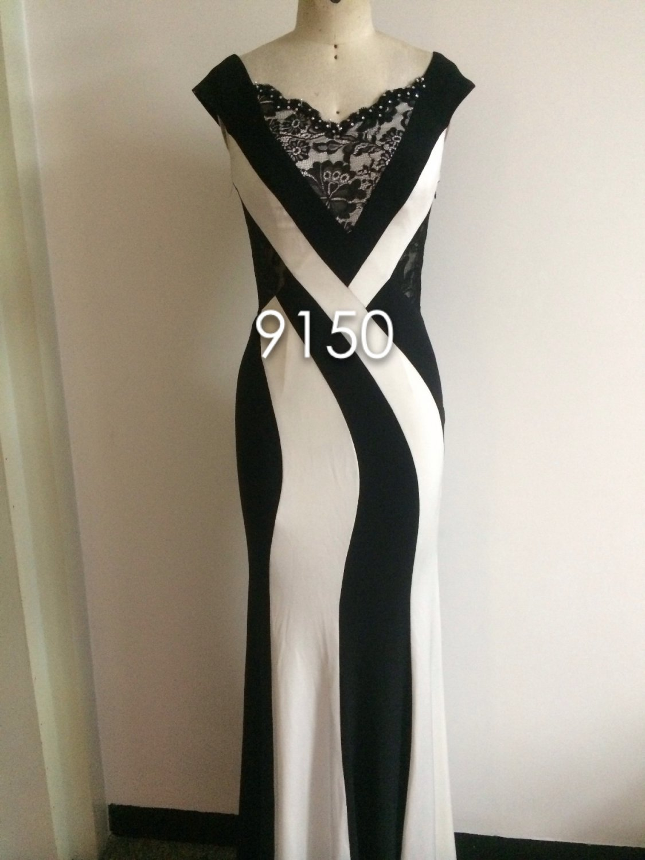 Black & White Evening Weaar Dresses - Darius Cordell