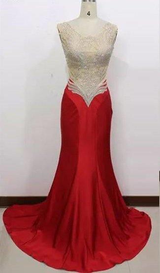#J15109 - Red Pageant Dresses - Darius Cordell