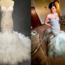 Darius Cordell fit-and-flare wedding gown inspired by J'aton Couture
