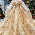 Style FB1202 - Gold fringe wedding dresses from Darius Cordell