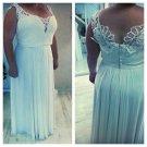 Style #1a48 - Open neck plus size wedding dresses