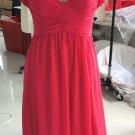 Red plus size evening dresses - Darius Cordell