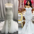 Beaded Plus Size Wedding Gown from The Darius Collection
