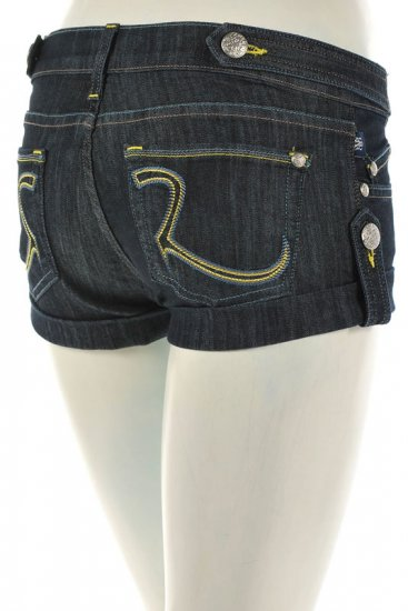 *SOLD 6/27*NWT Rock & Republic Simon Sexy Shorts with Tab Detail 27 authentic new