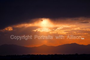 Great Salt Lake Portrait, Photograph16 x 20 Canvas by Portraits with Allison