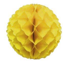 12'' Yellow Tissue Ball