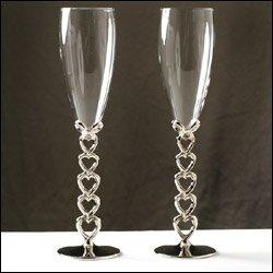 Toasting Glasses - Open Heart