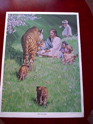 Print - Jesus and the Childrern