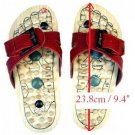 Reflexology Wooden Massage Sandals Shoes Slippers *EU38*