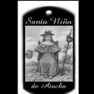 Santo Nino de Atocha Engraved Pendant With Free Custom Message