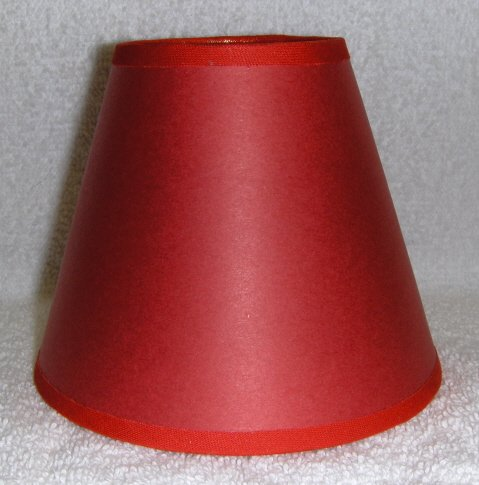 RED Paper Mini Chandelier Lamp Shade