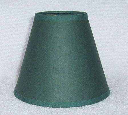 HUNTER GREEN Paper Mini Chandelier Lamp Shade