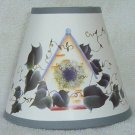 BIRDHOUSE w/ IVY Paper Mini Chandelier Lamp Shade