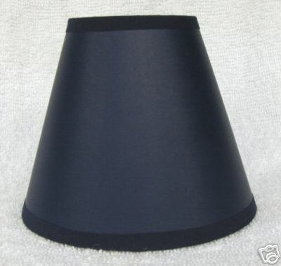 New NAVY BLUE Paper Mini Chandelier Lamp Shade