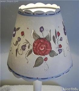 New Cut-Out Wine Swirl Mini Chandelier Lamp Shade