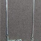 Sterling Silver Name Necklace - Name Plate - TIFFANY