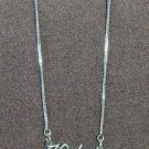 Sterling Silver Name Necklace - Name Plate - HALEY