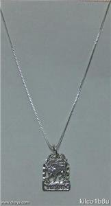 Sterling Silver Zodiac Necklace - TAURUS