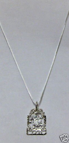 Sterling Silver Zodiac Necklace - LEO