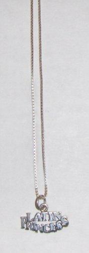 Sterling Silver Princess Necklace - LATIN PRINCESS