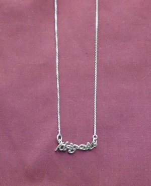 Sterling Silver Name Necklace - Name Plate - ABIGAIL