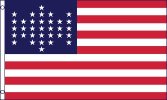 United States 33 Star Flag - (1859-1861) 3' x 5' Flag