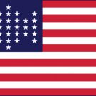 United States 33 Star Flag - (1859-1861) 3' x 5' Flag