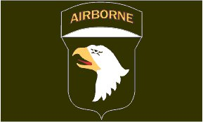 101st Airborne Flag-Screaming Eagles