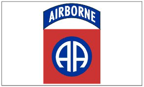 82nd Airborne 3' x 5' Flag