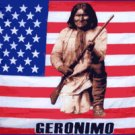 Geronimo on American Flag 3' x 5' Flag