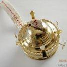 Oil Lamp Burner w/Jar Lid Lamp Kit- Turn Mason jars into oil lamps
