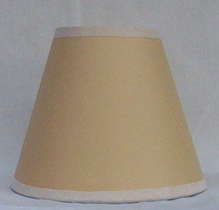 TAN Paper Mini Chandelier Lamp Shade