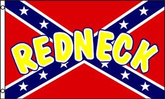 Redneck Rebel 3' x 5'  Flag