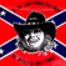 Hank Williams Rebel 3' x 5'  Flag