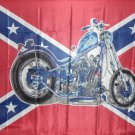 Rebel Cycle Motorcycle 3' x 5'  Flag