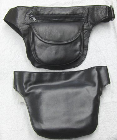 Genuine Leather CD Player Holder-Fanny Pack #35