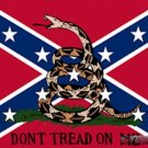 Don't Tread on Me Confederate - Rebel 3' x 5'  Flag