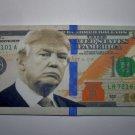 President Donald Trump $100 Hundred Dollar Bill Fold-able Canvas Wallet New