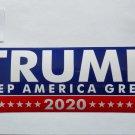 Donald Trump Bumper Sticker Keep America Great 2020