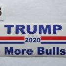 Donald Trump Bumper Sticker Trump 2020 No More Bullshit