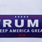 Donald Trump Bumper Sticker TRUMP KEEP AMERICA GREAT 2020
