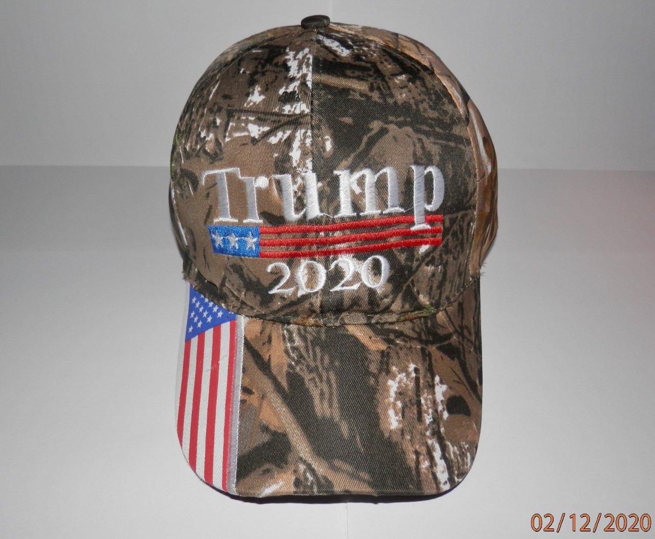 Donald Trump Camouflage 2020 Hat