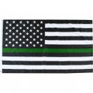 Thin Green Line Support the Military 2' x 3' Flag w/ 2 Grommets