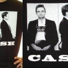 JOHNNY CASH EL PASO MUG SHOT 1965 ~ Premium Sueded T-Shirt ~ SIZE 3XL